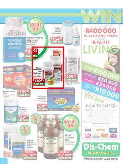 Dischem : Focus on Healthy Living (17 Sep - 14 Oct), page 3