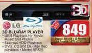 LG 3D Blu-Ray Player(BD325)
