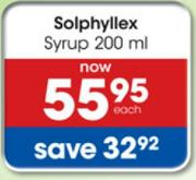 Solphyllex Syrup-200ml
