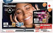 "Hisense 55"" 3D Full HD Smart LED TV + Hisense 32"" HD Ready LED TV (32K300)"