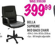 Bella Supreme Mid Back Chair