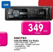 Sinotec USB/SD/MMC Car Radio-Each