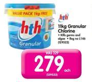 HTH 11kg Granular Chlorine