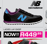 New Balance Ladies U410KBP