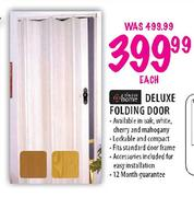Always Home Deluxe Folding Door