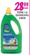 Teepol Dishwashing Liquid-1.5Ltr