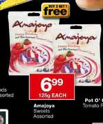 Amajoya Sweets Assorted-125g each