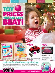 Game : Toy Prices You Just Can't Beat (21 Oct - 24 Dec 2016), page 1