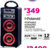Polaroid Portable Karaoke Speaker-Each
