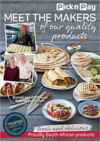 Pick n Pay : Meet The Makers Of Our Quality Products (4 Mar - 30 Mar 2019), page 1