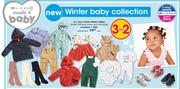 Clicks Made 4 Baby Winter Clothing, Shoes & Stockings-Each