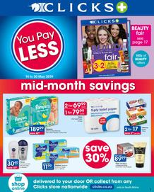 Clicks : You Pay Less (14 May - 30 May 2019), page 1
