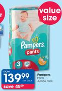 Pampers Pants Jumbo Pack-Per Pack