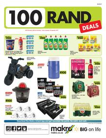 Makro : R100 Deals (01 Jul - 30 Sep 2017), page 1