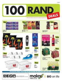 Makro : 100 Rand Deals (23 Jul - 30 Sep 2017), page 1