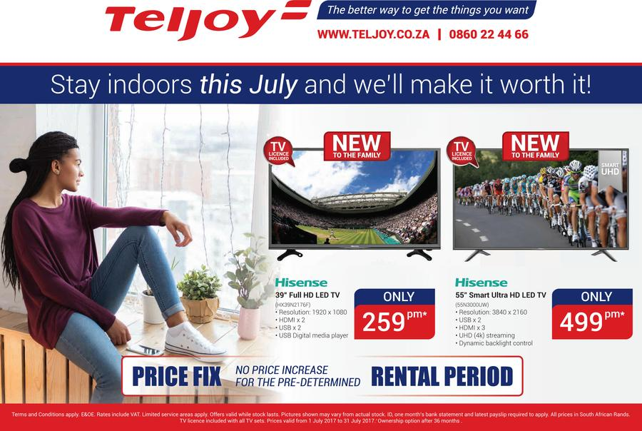 Teljoy : July Catalogue (1 July - 31 July 2017)