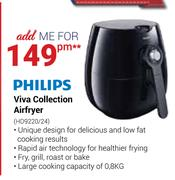Philips Viva Collection Airfryer HD9220/24