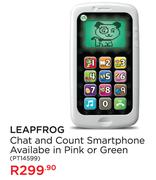 Leapfrog Chat And Count Smartphone (Available In Pink Or Green)