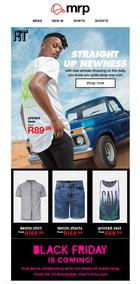 Mr Price : Straight Up Newness , page 1