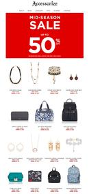 Accessorize : Mid-Season Sale , page 1