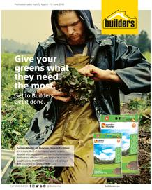 Builders : Give Your Greens What They Need The Most (12 March - 12 June 2018), page 1