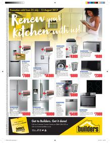 Builders : Renew Your Kitchen With Us (25 July - 13 August 2017), page 1