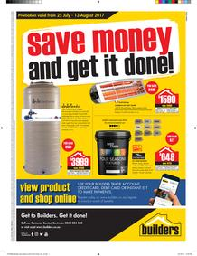 Builders : Save Money Get It Done (25 July - 13 August 2017), page 1
