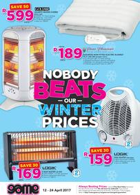Game : Nobody Beats Our Winter Prices (12 Apr - 24 Apr 2017), page 1