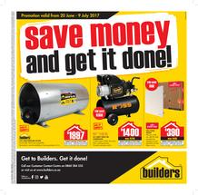 Builders : Save Money And Get It Done (20 June - 9 July 2017), page 1