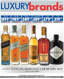 Ultra Liquors : Luxury Brands (01 Jun - 30 Jun 2017), page 1