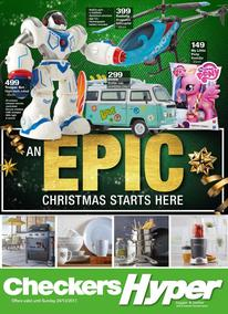 Checkers Hyper : Epic Christmas Starts Here (20 Nov - 24 Dec 2017), page 1