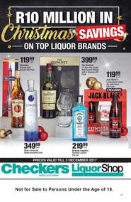 Checkers : Liquor Shop (20 Nov - 03 Dec 2017), page 1