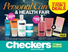 Checkers Eastern Cape : Personal Care & Health Fair (21 May - 03 Jun 2018), page 1