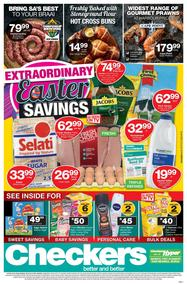 Checkers Eastern Cape : Easter Specials (08 Apr - 22 Apr 2019), page 1