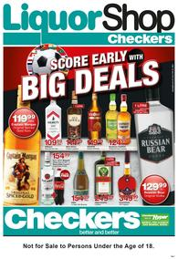 Checkers Eastern Cape :  Big Deals (21 May - 03 Jun 2018), page 1