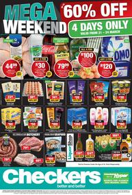 Checkers Eastern Cape : Mega Weekend Specials  (21 Mar - 24 Mar 2019), page 1