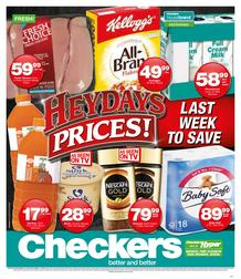 Checkers Eastern Cape : Heydays Specials (15 Oct - 21 Oct 2018), page 1