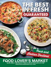 Food Lovers Market : The Best In Fresh (23 Aug - 26 Aug 2018), page 1
