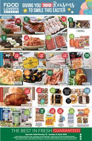 Food Lovers Market Eastern Cape : R100 Deals This Easter (15 Apr - 21 Apr 2019), page 1