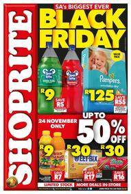 Shoprite Gauteng : Black Friday (24 Nov 2017 Only), page 1