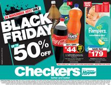 Checkers Gauteng : Black Friday (24 Nov 2017 Only), page 1