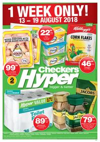 Checkers Hyper : 1 Week Only! (13 Aug - 19 Aug 2018), page 1