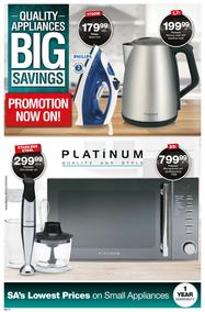 Checkers : Small Appliances Promotion (21 May - 03 Jun 2018), page 1