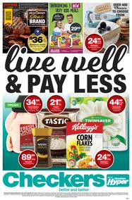Checkers Gauteng : Live Well & Pay less (06 Nov - 19 Nov 2017), page 1
