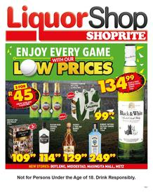 Shoprite Gauteng, Mpumalanga, Limpopo & North West : Liquorshop  (21 May - 09 Jun 2019), page 1
