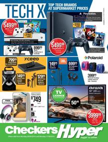 Checkers Hyper : Tech X Promotion (20 May - 17 Jun 2019), page 1
