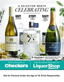 Checkers Eastern Cape, Northern Cape & KwaZula Natal : Wine Promotion (15 Apr - 05 May 2019), page 1