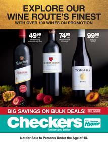 Checkers : Wine Promotion (18 Jun - 08 Jul 2018), page 1