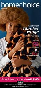 Home Choice : Blanket Range (01 Apr - 30 Apr 2019), page 1