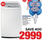 Samsung 9kg Top Loading Washing Machine WA9OH4200SW